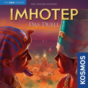 Imhotep, Duell